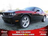 2011 Brilliant Black Crystal Pearl Dodge Challenger R/T Classic #46069936