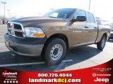 2011 Saddle Brown Pearl Dodge Ram 1500 ST Quad Cab #46069937