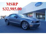 2011 Sterling Gray Metallic Ford Mustang V6 Premium Convertible #46069947