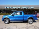 2011 Blue Flame Metallic Ford F150 FX4 SuperCab 4x4 #46070180