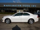2010 White Platinum Tri-coat Metallic Ford Fusion SEL #46070185