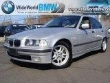 1998 Arctic Silver Metallic BMW 3 Series 328i Sedan #46091420
