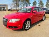 2008 Brilliant Red Audi A4 2.0T S-Line Sedan #46070252