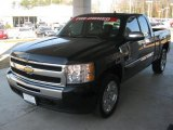 2009 Black Granite Metallic Chevrolet Silverado 1500 LT Texas Edition Extended Cab #46091915