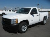 2011 Summit White Chevrolet Silverado 1500 Regular Cab #46070285