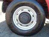 Dodge Ram Van 2002 Wheels and Tires