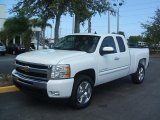 2011 Summit White Chevrolet Silverado 1500 LT Extended Cab #46091486
