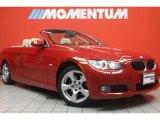 2008 Crimson Red BMW 3 Series 328i Convertible #46070300