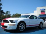 2007 Performance White Ford Mustang Shelby GT500 Coupe #46091521