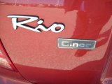 Kia Rio 2004 Badges and Logos