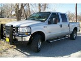2004 Silver Metallic Ford F250 Super Duty FX4 Crew Cab 4x4 #46091538