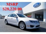 2011 White Platinum Tri-Coat Ford Fusion SEL #46091622