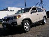 2011 White Sand Beige Kia Sorento LX AWD #46091640