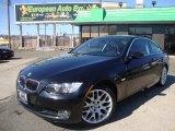 2008 Jet Black BMW 3 Series 328xi Coupe #46070039