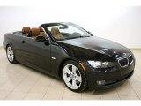 2008 Black Sapphire Metallic BMW 3 Series 335i Convertible #46092078