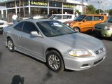 2002 Satin Silver Metallic Honda Accord EX V6 Coupe #46070666