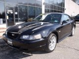 2003 Black Ford Mustang V6 Coupe #46092108