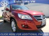 2011 Wild Cherry Metallic Volkswagen Tiguan SE #46070730