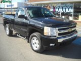 2008 Black Chevrolet Silverado 1500 LT Regular Cab 4x4 #46091687