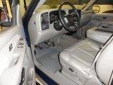 2001 GMC Sierra 1500 SLT Extended Cab 4x4 Graphite Interior