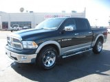 2011 Hunter Green Pearl Dodge Ram 1500 Laramie Crew Cab 4x4 #46070222
