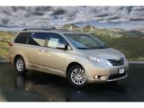2011 Sandy Beach Metallic Toyota Sienna XLE #46091331