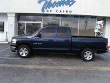 2006 Patriot Blue Pearl Dodge Ram 1500 SLT Quad Cab #46070352