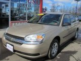 2005 Light Driftwood Metallic Chevrolet Malibu Sedan #46092214