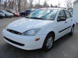2004 Cloud 9 White Ford Focus LX Sedan #46092218