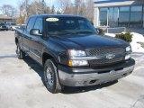 2003 Dark Gray Metallic Chevrolet Silverado 1500 LS Crew Cab 4x4 #46091794