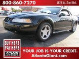 2000 Black Ford Mustang GT Convertible #46092264
