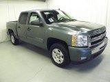 2011 Blue Granite Metallic Chevrolet Silverado 1500 LT Crew Cab #46091997