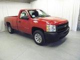 2011 Victory Red Chevrolet Silverado 1500 Regular Cab #46091998