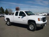 2007 Summit White GMC Sierra 2500HD SLE Extended Cab 4x4 #46069569