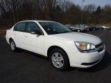 2005 White Chevrolet Malibu LS V6 Sedan #46183412