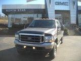 2002 Dark Shadow Grey Metallic Ford F250 Super Duty Lariat SuperCab 4x4 #46183425