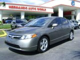 2006 Galaxy Gray Metallic Honda Civic EX Sedan #442419