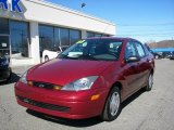 2003 Ford Focus LX Sedan Front 3/4 View