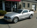 2007 Satin Silver Metallic Ford Mustang V6 Deluxe Coupe #46183636