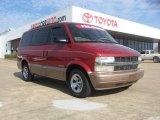 2001 Light Carmine Red Metallic Chevrolet Astro LS Passenger Van #46183637