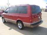 2001 Chevrolet Astro Light Carmine Red Metallic