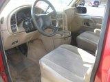 2001 Chevrolet Astro LS Passenger Van Neutral Interior