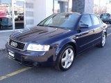 2004 Moro Blue Pearl Effect Audi A4 1.8T quattro Sedan #46183870