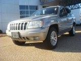 2002 Silverstone Metallic Jeep Grand Cherokee Limited 4x4 #46183257