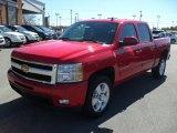 2011 Victory Red Chevrolet Silverado 1500 LTZ Crew Cab 4x4 #46183878