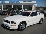2005 Performance White Ford Mustang GT Premium Coupe #46183664