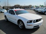2005 Ford Mustang Performance White