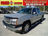 2005 Silver Birch Metallic Chevrolet Silverado 1500 LT Crew Cab 4x4 #46183887