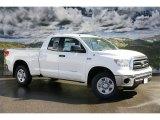 2011 Super White Toyota Tundra SR5 Double Cab 4x4 #46183103