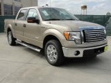 2011 Pale Adobe Metallic Ford F150 XLT SuperCrew #46183476